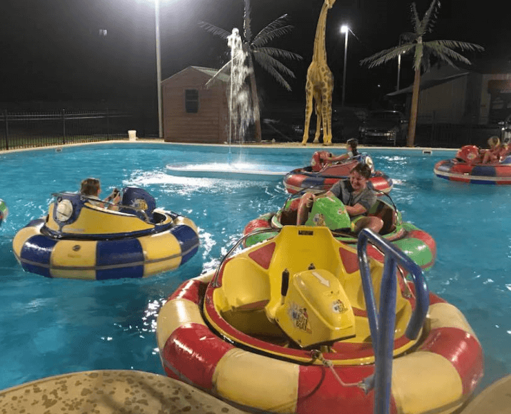 Funtrackers Bumper Boats – Group Play