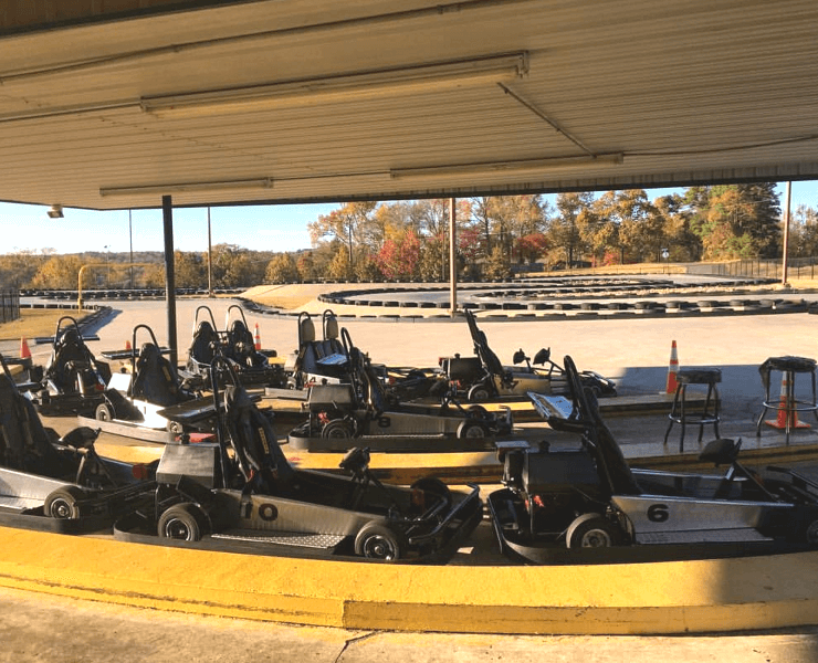 Funtrackers Go Karts – Empty Karts