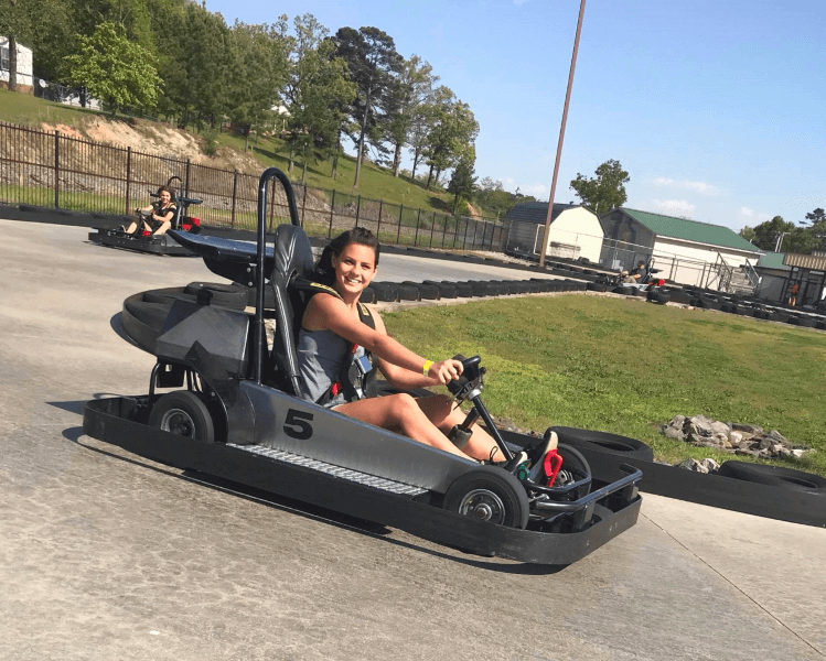 Funtrackers Go Karts – Girl On Track