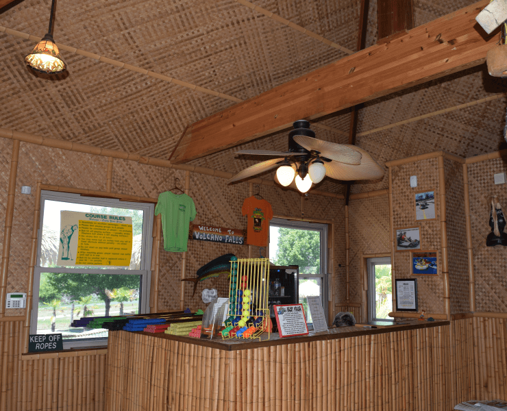 Funtrackers Mini Golf – Inside Hut