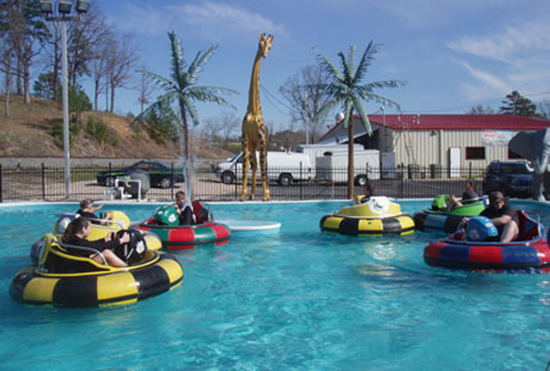 FunTrackers Family Park Bumper Boats