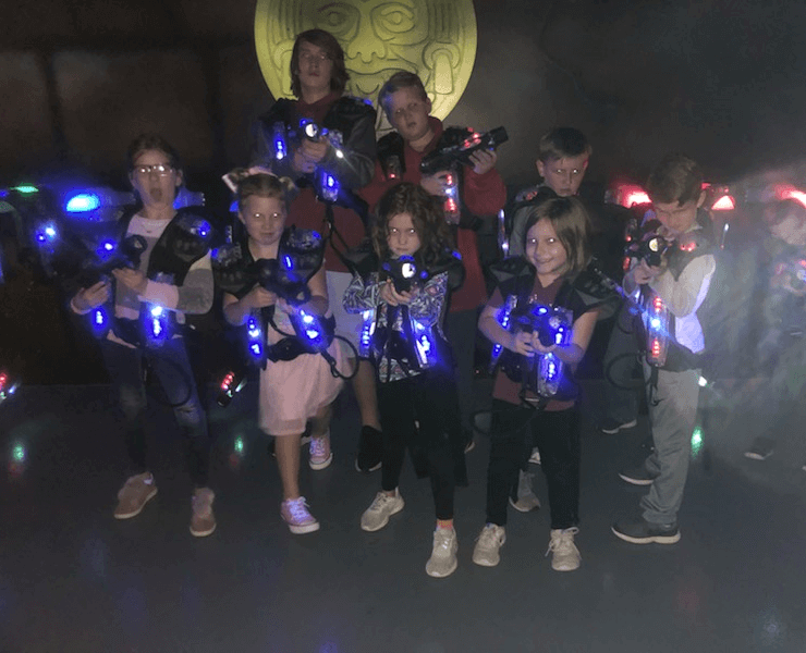 Funtrackers Laser Tag – Getting Ready To Play