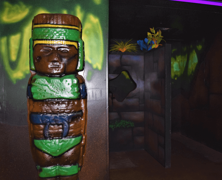 Funtrackers Laser Tag – Totem Pole