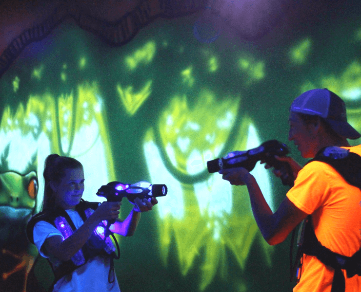 Funtrackers Laser Tag – Two Players