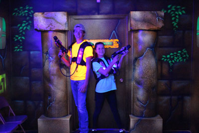 FunTrackers Family Park Laser Tag