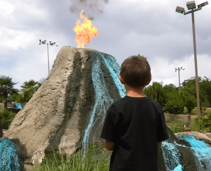 Funtrackers Mini Golf – Volcano