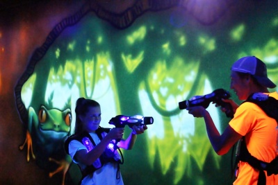 Funtrackers Family Park – Laser Tag